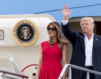 Trump llega a Israel para una visita de 28 horas